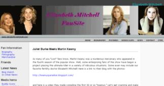Elizabeth Mitchell fansite