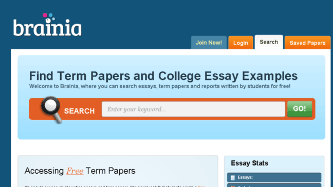 All Best Free Essays and Term Papers