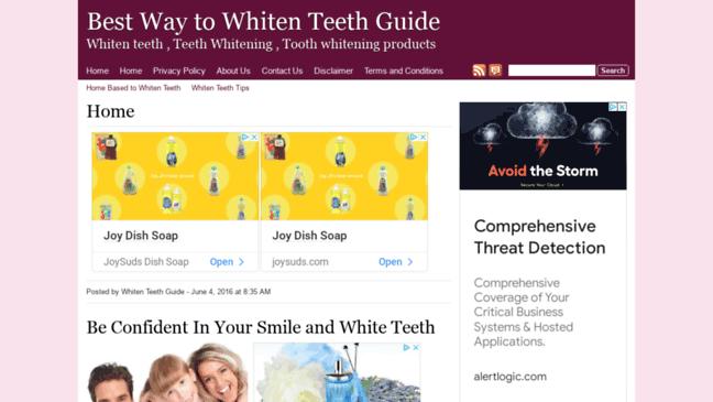 Best Way to Whiten Teeth Guide. Updates