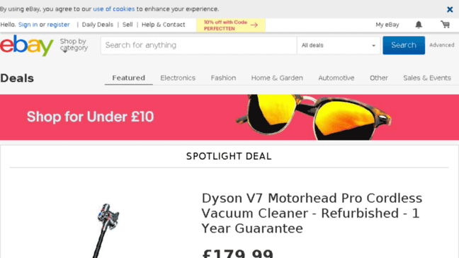 Best Deals On Ebay Shop Electronics Home Beaut Updates By Dealseu Ebay Co Uk