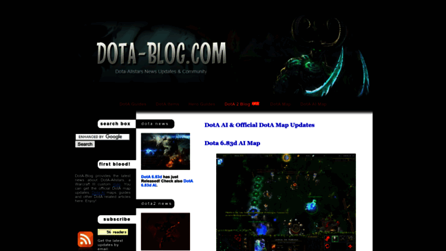 dota ai download dota 6 83d official map and dota updates by