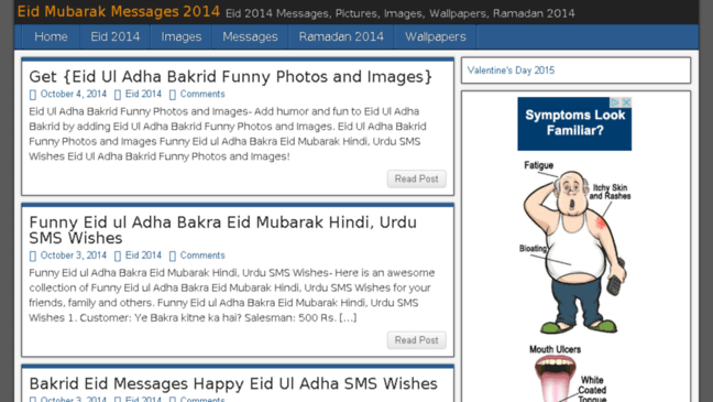 Eid Mubarak Messages 2014  Updates by eidmubarakmessages20