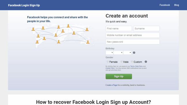 How To Welcome Facebook Log In Signup Facebook Login Sign Up 14