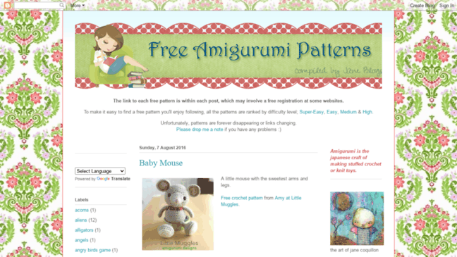 Fairy Mouse Toy (With images)   Amigurumi pattern, Amigurumi free ...   365x648