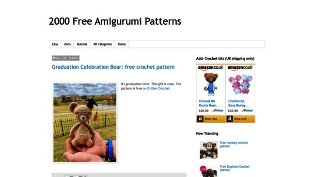 Crochet Resource of the Best Crochet Blogs - Easy Crochet | 365x648