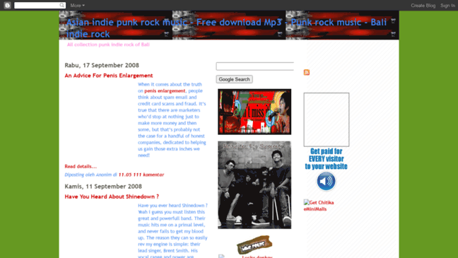 Asian indie punk rock music - Free download Mp3 -      Updates by