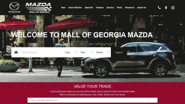 Mall Of Georgia Mazda >> Mall Of Georgia Mazda In Buford New Used Deale