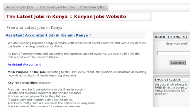 Why social media is important, job search websites in kenya