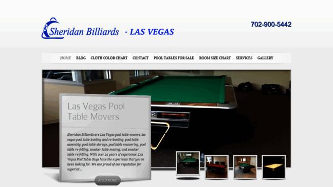 Sheridan Billiards Las Vegas Pool Tables And Bil Updates By - Pool table guys