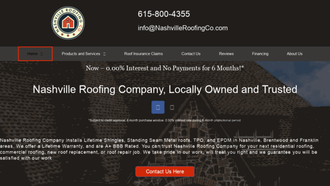 Nashville Roofing Company | Roofing Contractors | .