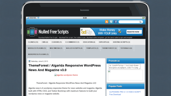 Wp Tube Plugin Nulled 30 gelralft nulled-free-scripts.blogspot.com