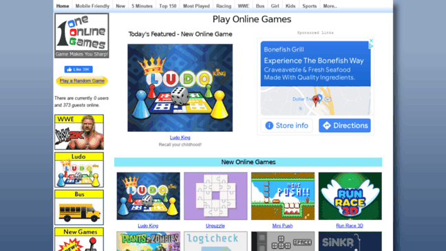 One Online Games - Free Games Online  Updates by