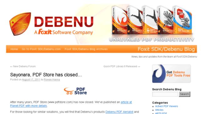 Debenu Quick PDF Library 11.13