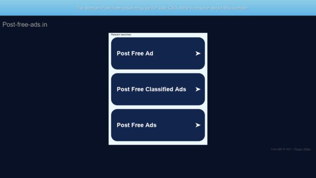 Classified ads UK