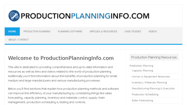 comprehensive and up to date product information