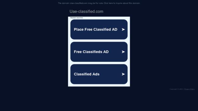 uae-classified com  Updates by uae-classified com