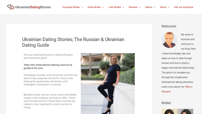 any ukrainian dating website you