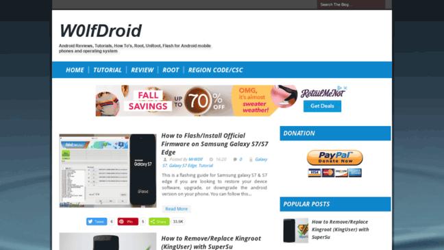 W0lfDroid  Updates by w0lfdroid com